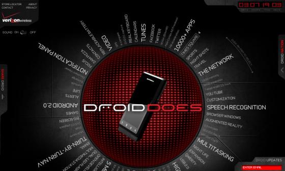 DroidDoes.com - A Flash Microsite